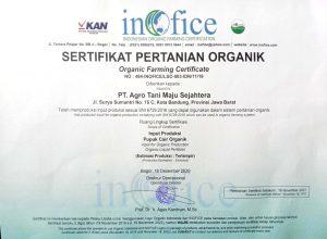Sertifikat Inofice, Sertifikat Pertanian Organik, acele, acele indonesia, pupuk cair, pupuk cair organik