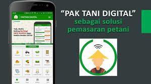 Gambar 1. Aplikasi Pak Tani Digital